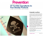 Prevention Magazine 10 Terrible Ingredients in Your Makeup
