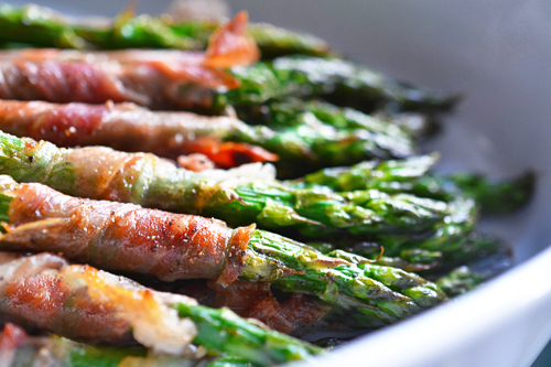 wrapped asparagus spears recipe