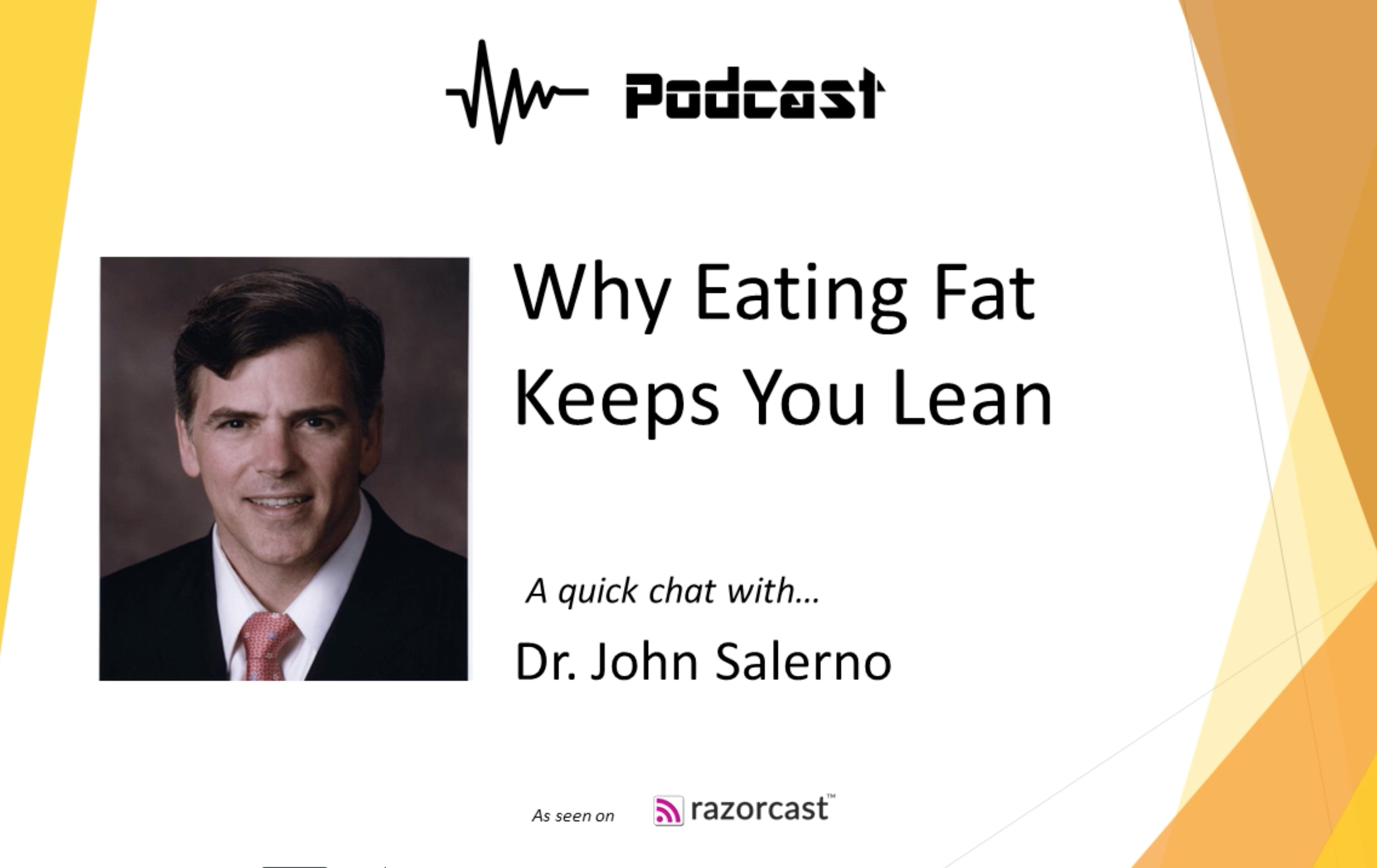 why eating fat keeps you lean