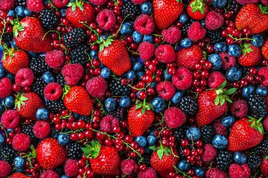 Nutrients in Berries