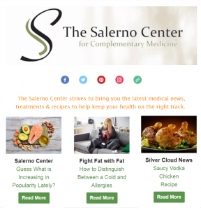 The Salerno Center for Complementary Medicine - Newsletter