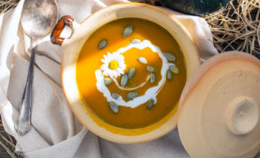 Low-Carb Keto Pumpkin Soup Recipe