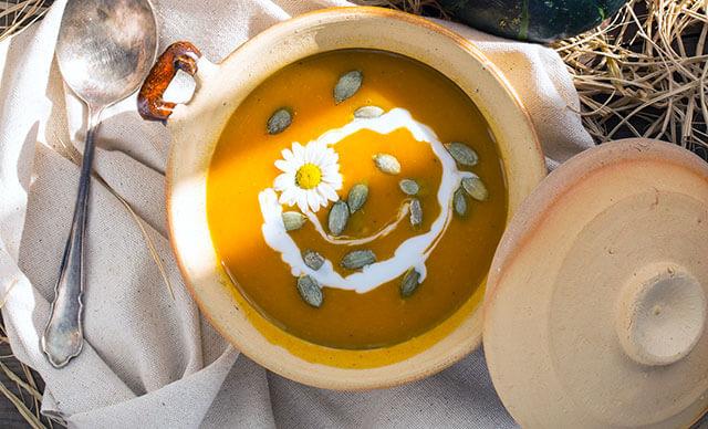 Low-Carb Keto Pumpkin Soup Recipe