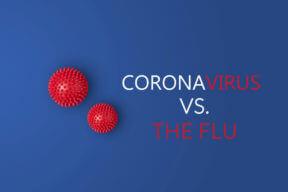 Coronavirus and the Flu