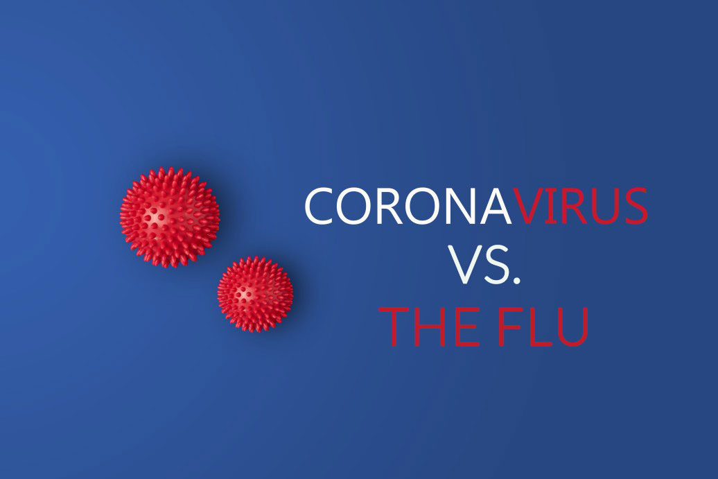 Coronavirus and the Flu
