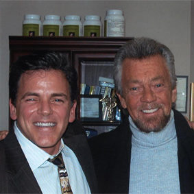 Steven Cannell and Dr. Salerno