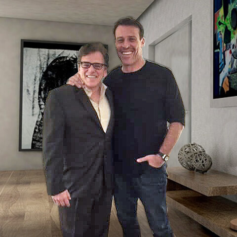 Dr. John Salerno with Tony Robbins