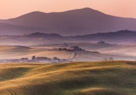 Early morning, Tuscany, Italy